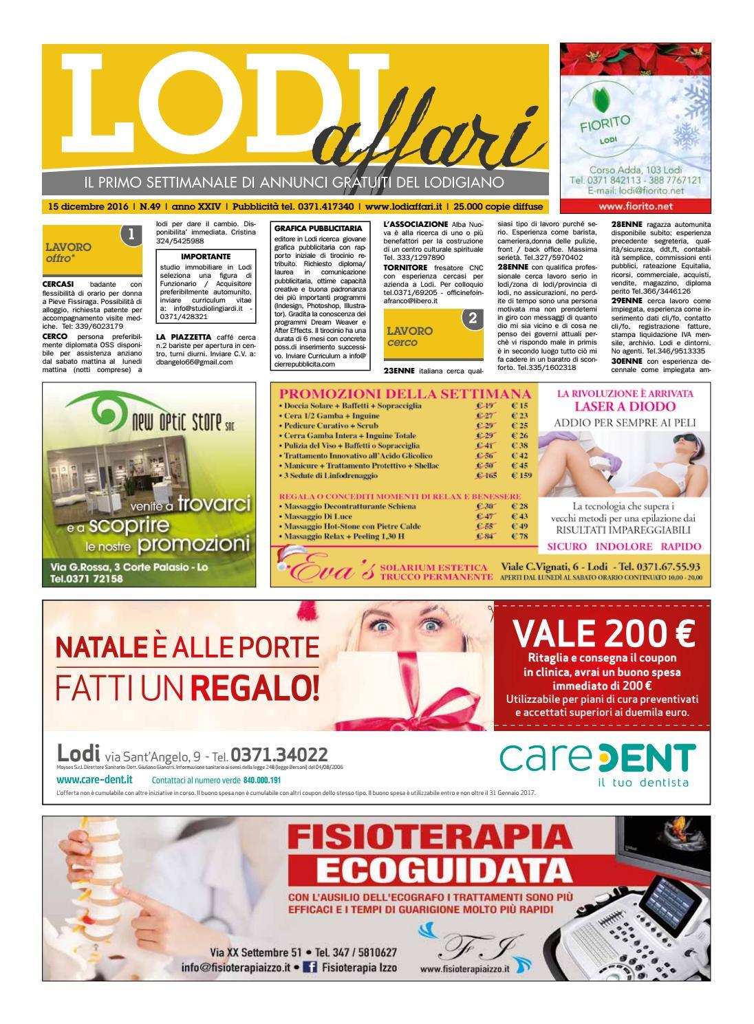 Lodi Affari 15 Dicembre by Lodi Affari - issuu 1a77109b64b