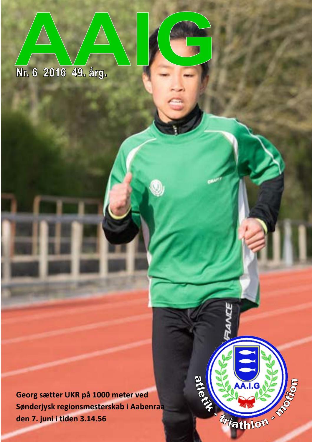 0c990fcaa65 Aaig klubblad nr 6 2016 by Aaig Atletik Triathlon Motion - issuu