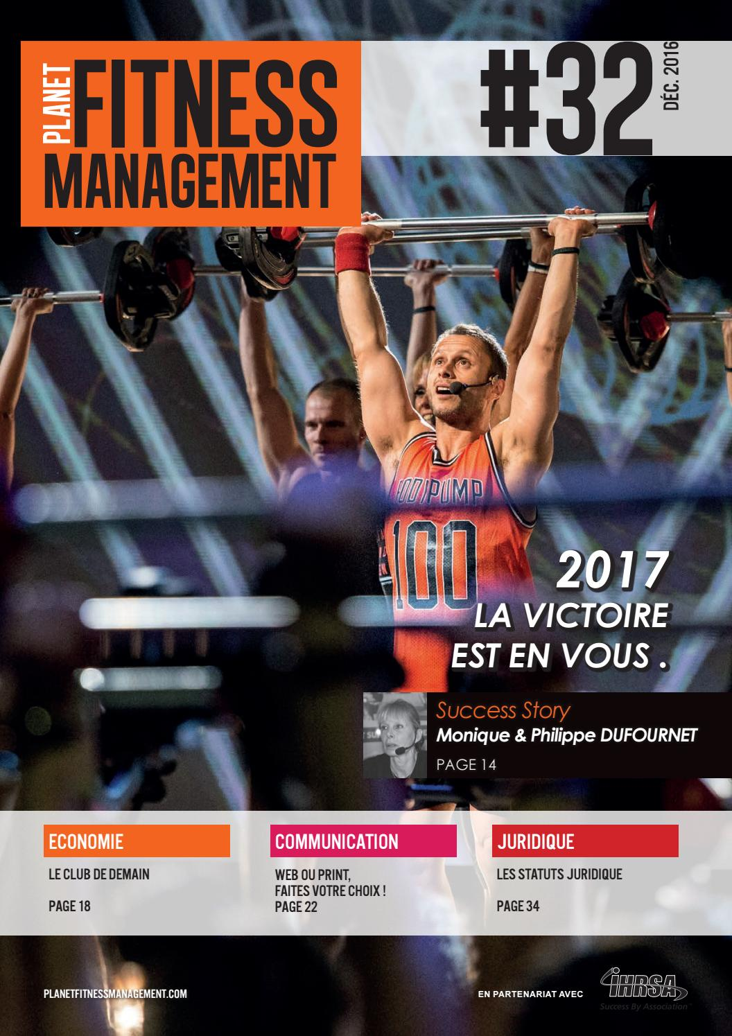 Planet Fitness Management  32 by Les Mills France - issuu 00e44357741