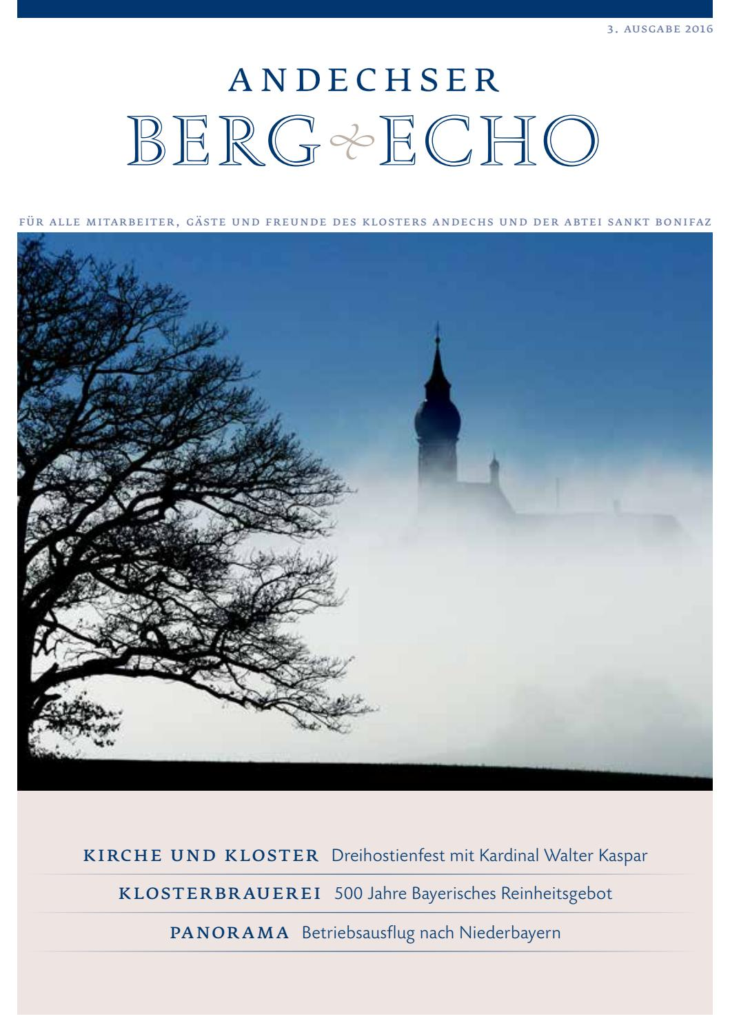 Andechser Bergecho 3-2016 by Sunny Systems GmbH - issuu
