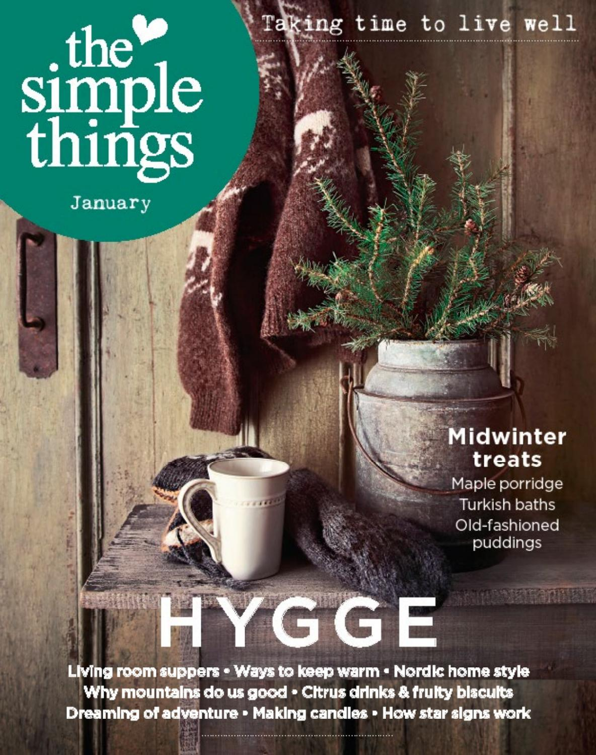 The Simple Things January Issue
