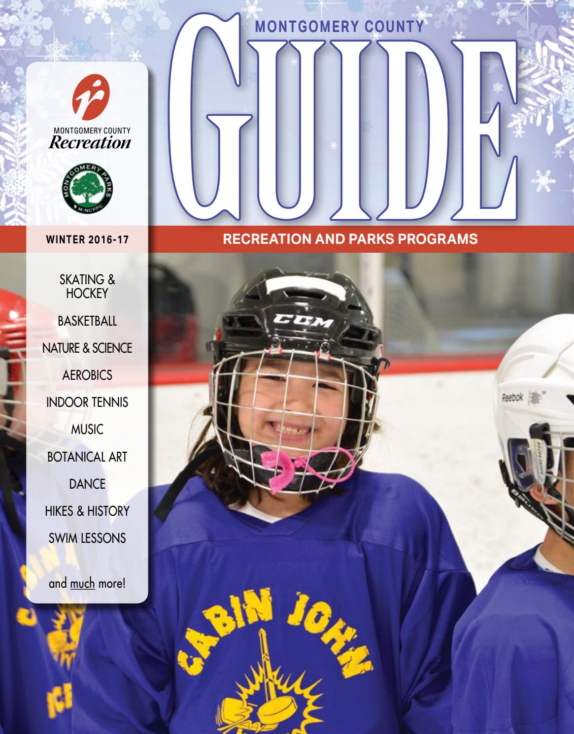 Winter 2017 Guide by Montgomery County Recreation Dept  - issuu