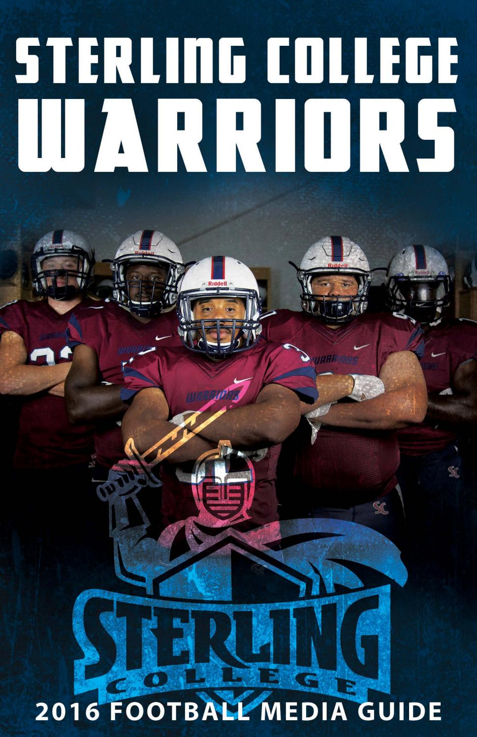 2016 Sterling College Football Media Guide By Sterling