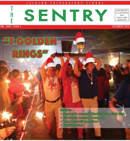 The Sentry, December 2016 by The Sentry, Jackson Preparatory
