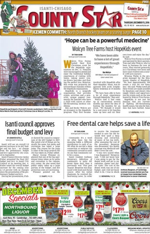 Isanti Chisago County Star December 15 2016 by Isanti Chisago