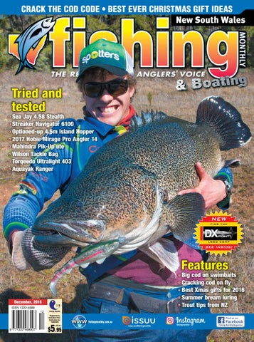 2c5c136058 NSW Fishing Monthly December 2016 by Fishing Monthly - issuu