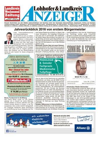 Lohhofer & Landkreis Anzeiger 50/16 by Zimmermann GmbH Druck ...