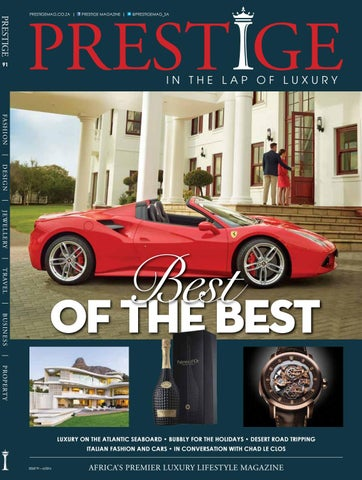Prestige 91 Best of the Best by Prestige Magazine South