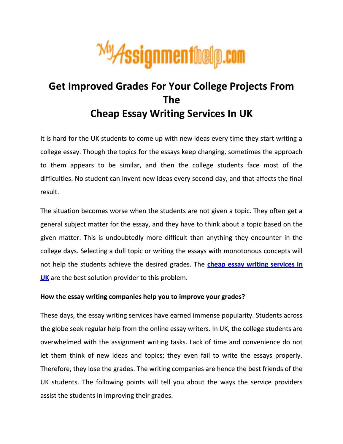 cheap essay writing uk