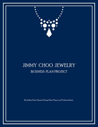 Jimmy Choo Jewelry Business Plan by Gisele Hyemin Chang - issuu