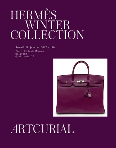 f518a145a9 Hermès Winter Collection by Artcurial - issuu