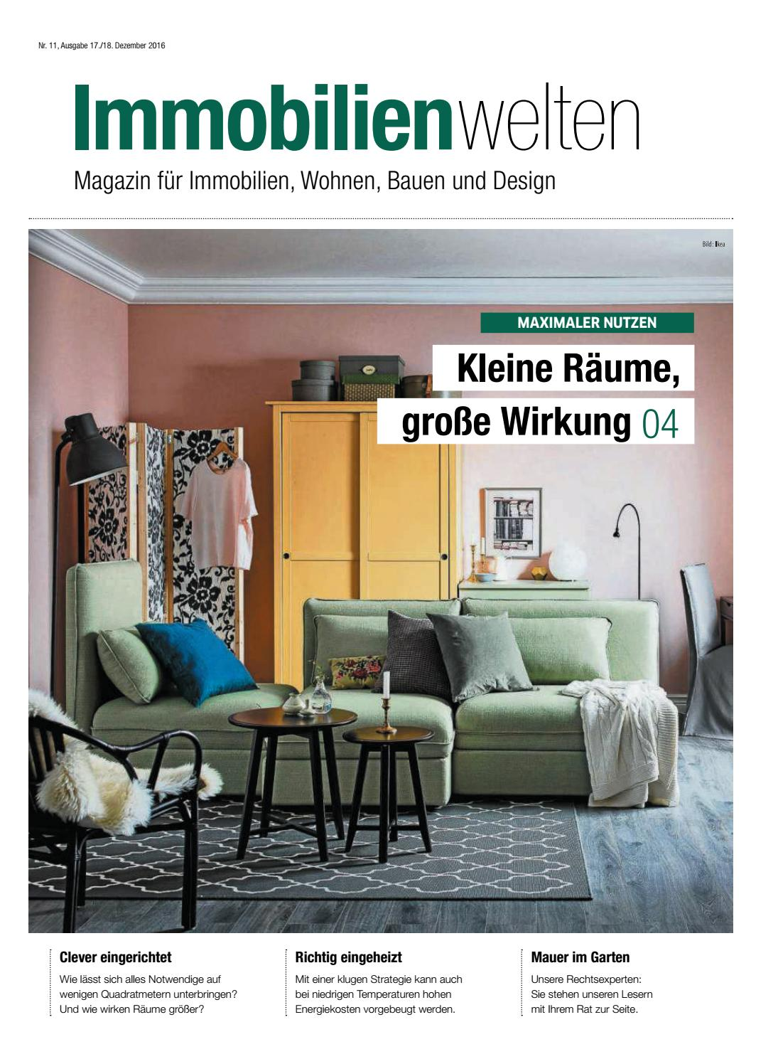 immobilienwelten kleine r ume gro e wirkung by berlin medien gmbh issuu. Black Bedroom Furniture Sets. Home Design Ideas