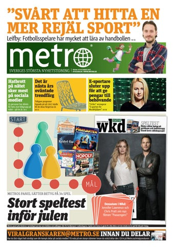 20161216 se stockholm by Metro Sweden - issuu 14447f05c3205
