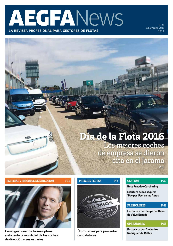 Revista AEGFANews Nº 46 | Julio/Agosto 2016 by AIAFA - Asociación ...