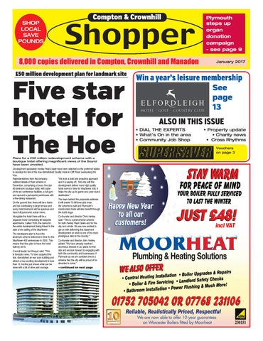 Plymouth shopper january 2017 by cornerstone vision issuu page 1 fandeluxe Image collections