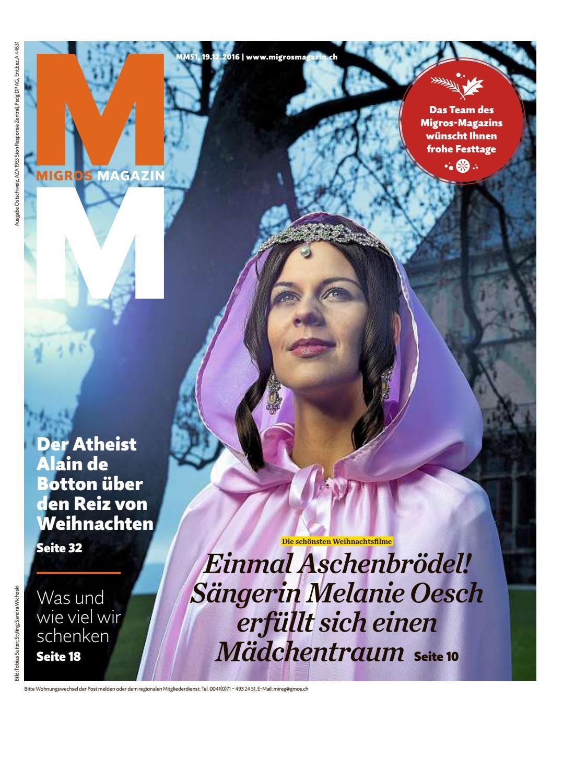 Migros magazin 51 2016 d os by Migros-Genossenschafts-Bund - issuu