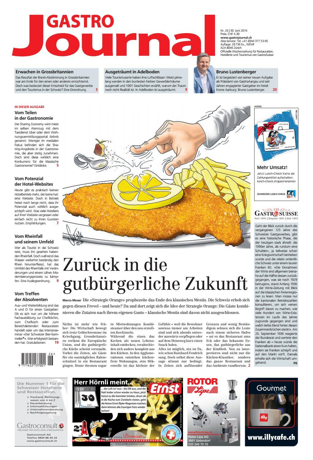 GastroJournal 26/2016 by Gastrojournal - issuu
