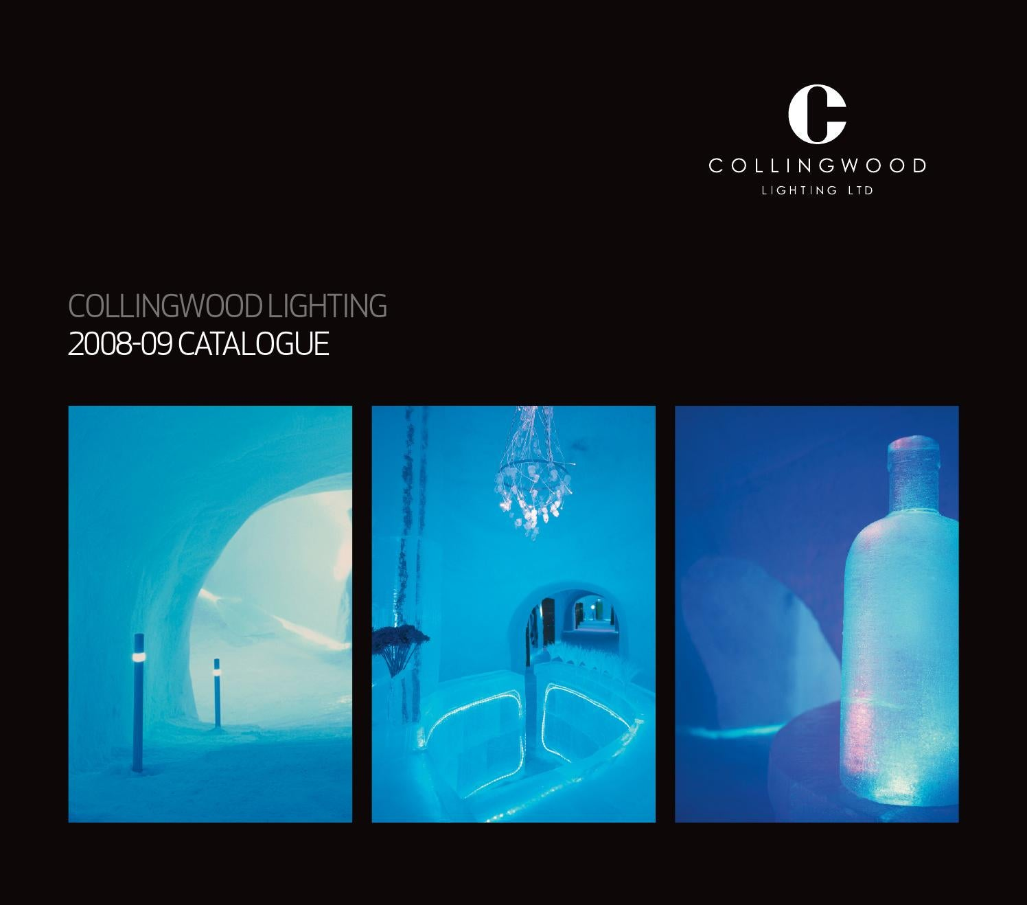 Collingwood Lighting Catalogue 2008 09 By Chris Twidale Issuu Led Lamp Lightings Gt Wholesale Lamps 5mm Leds
