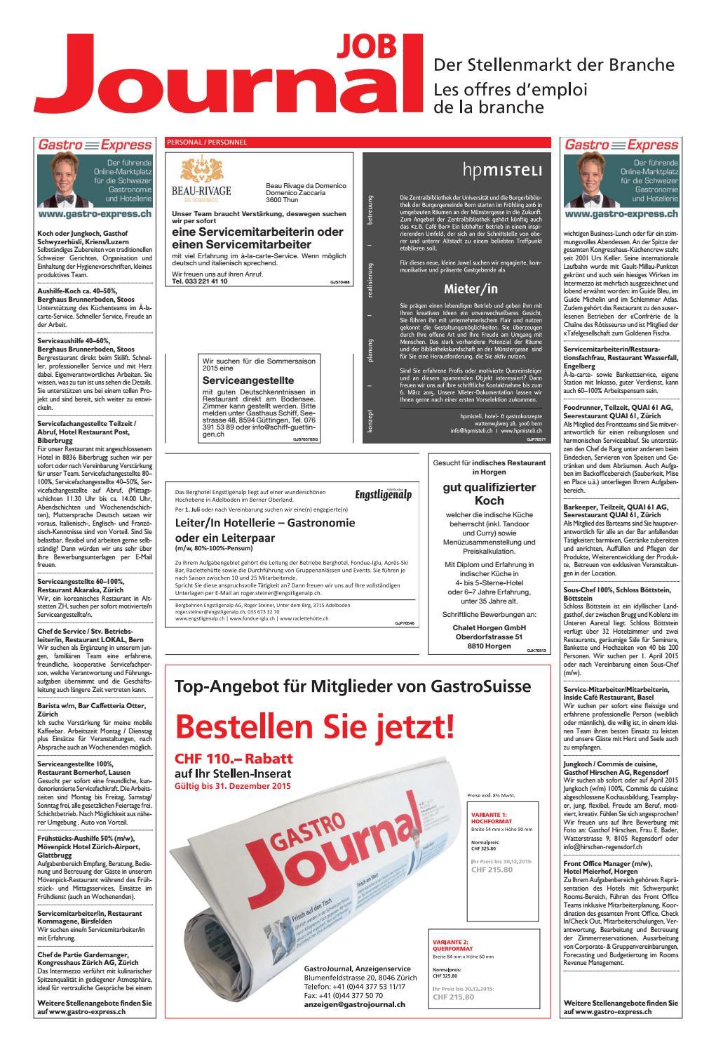 GastroJournal 08/2015 by Gastrojournal - issuu