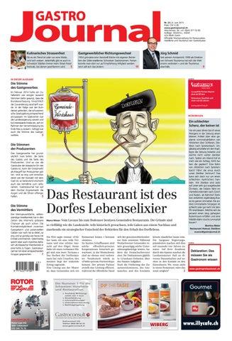 GastroJournal 23 2015 By Gastrojournal