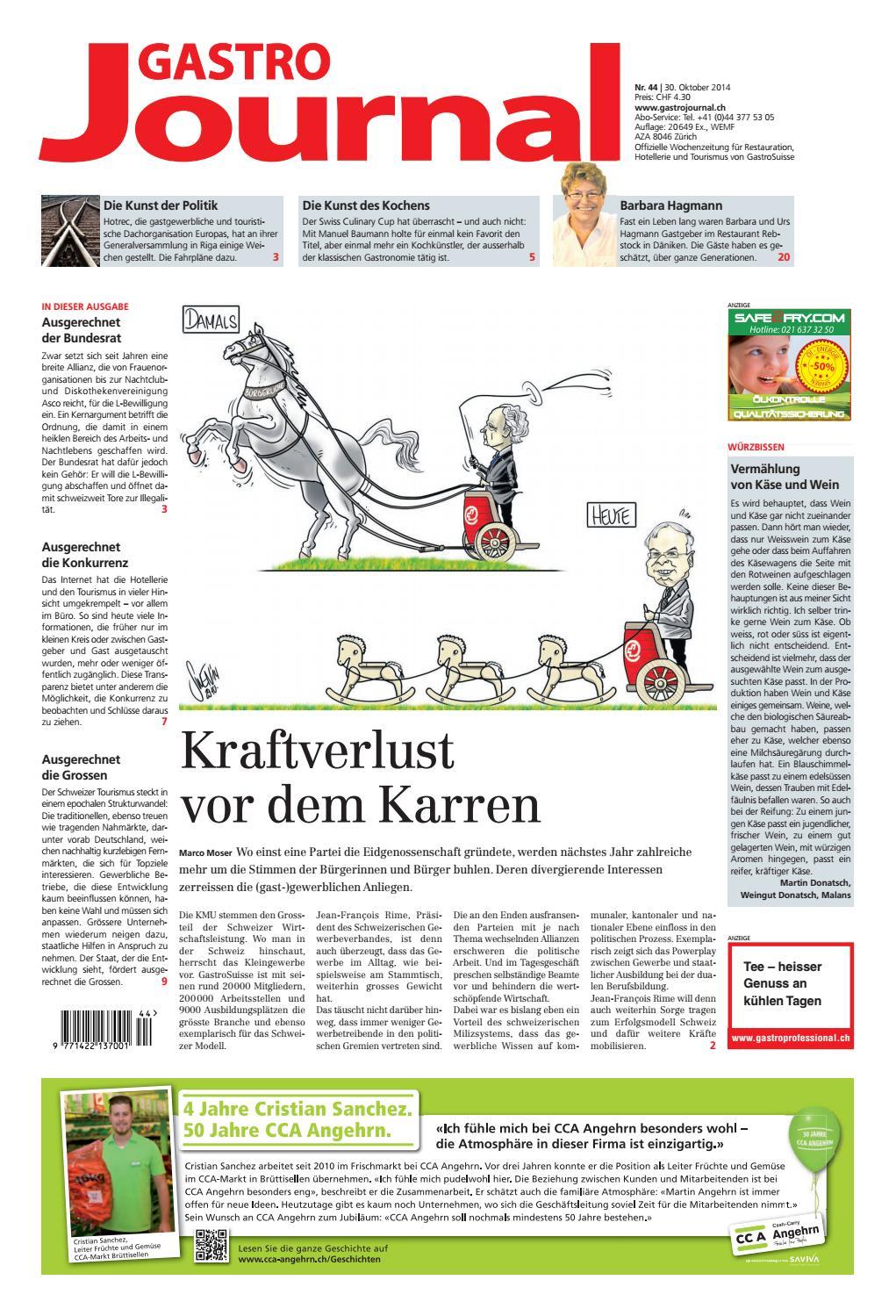 GastroJournal 44 2014 By Gastrojournal
