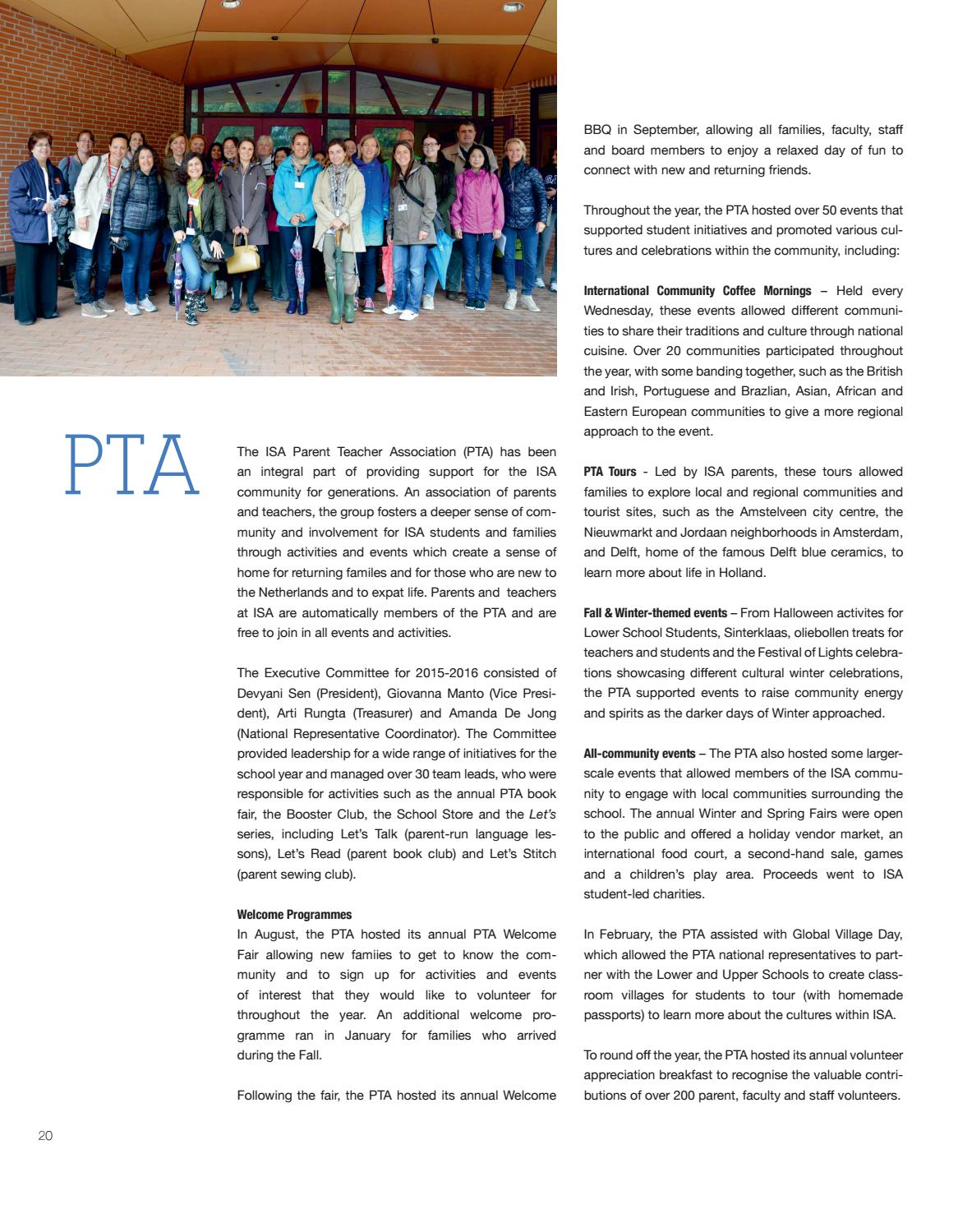 ISA Connections Issue 06 by The International School of Amsterdam