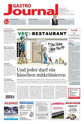 GastroJournal 16/2013 by Gastrojournal - issuu