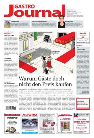 Good +41 (0)44 377 53 05 Auflage: 21902 Ex., WEMF AZA 8046 Zürich Offizielle  Wochenzeitung Für Restauration, Hotellerie Und Tourismus Von GastroSuisse