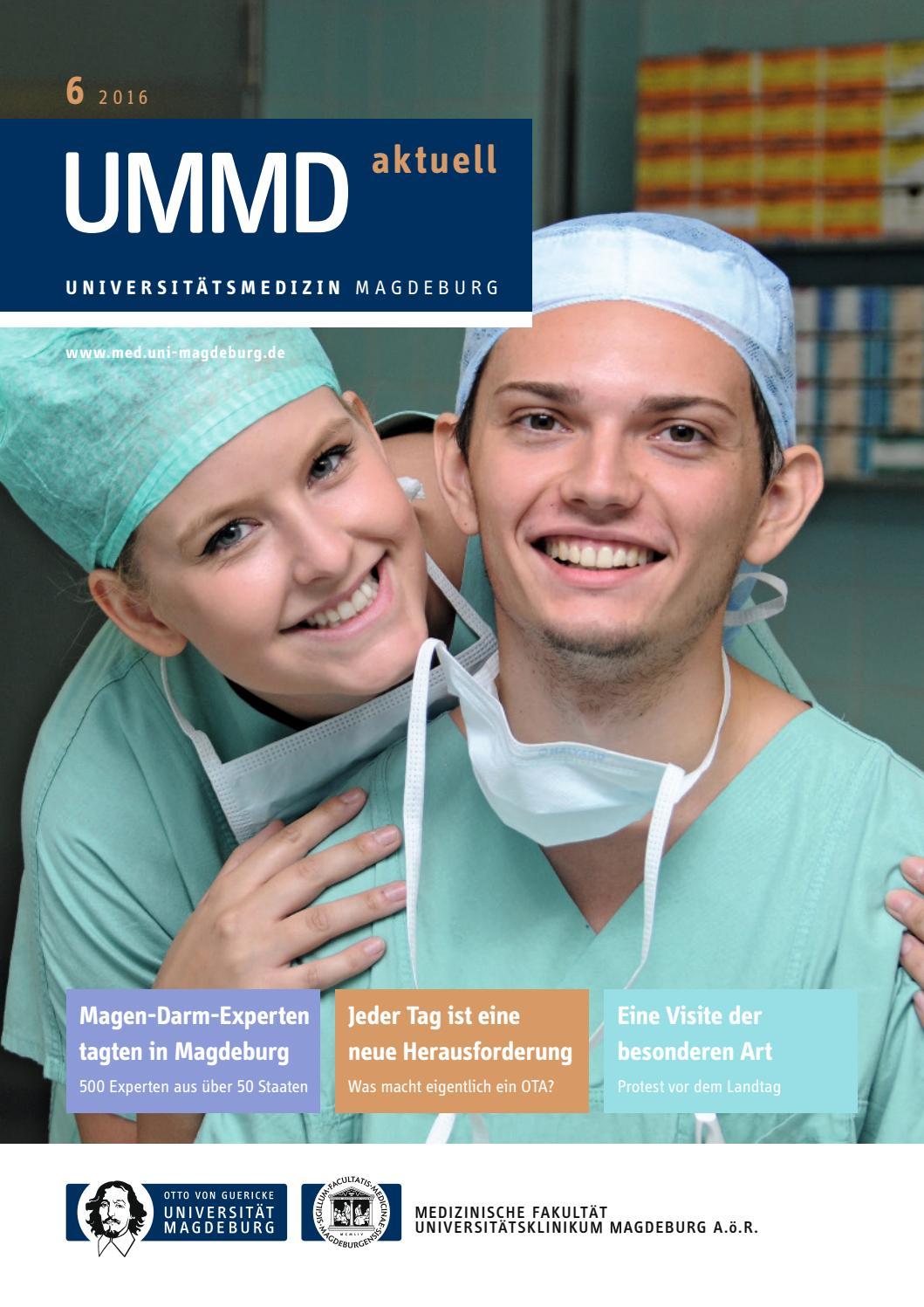 147034 uni ummd aktuell 06 2016 int by Universitätsmedizin Magdeburg - issuu