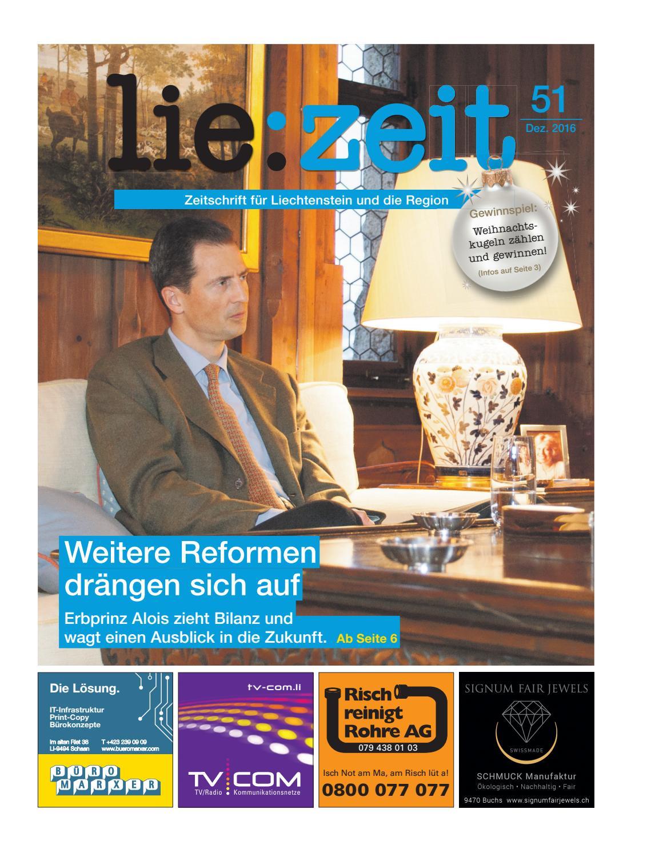 lie:zeit Ausgabe 51 by Medienbüro Oehri & Kaiser AG - issuu