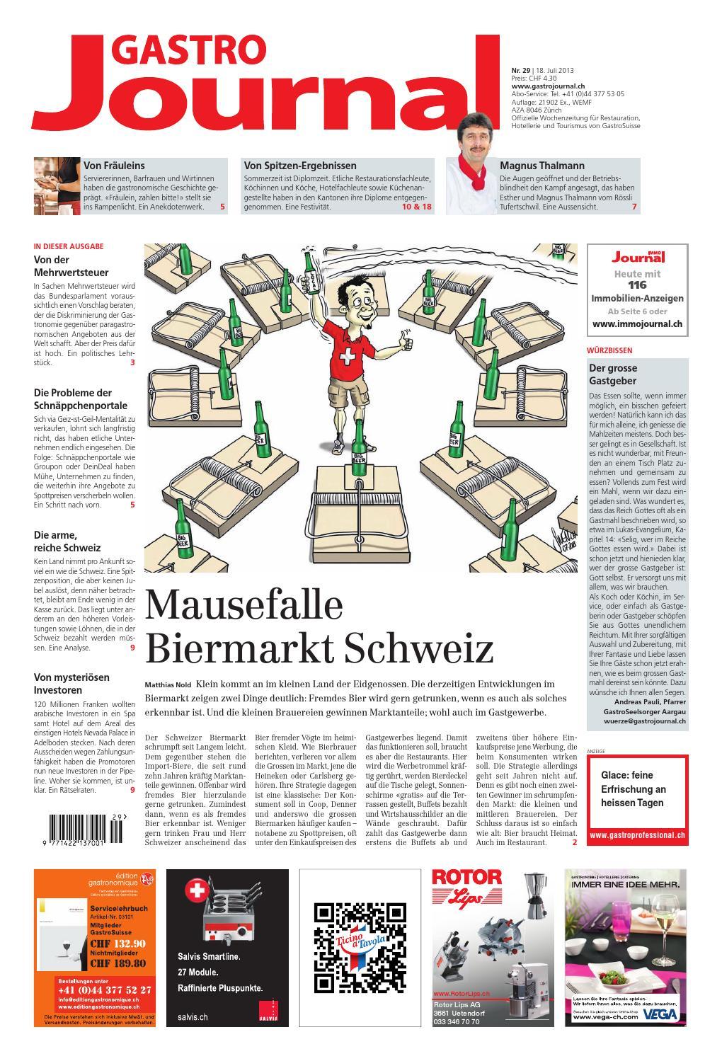 GastroJournal 29/2013 by Gastrojournal - issuu