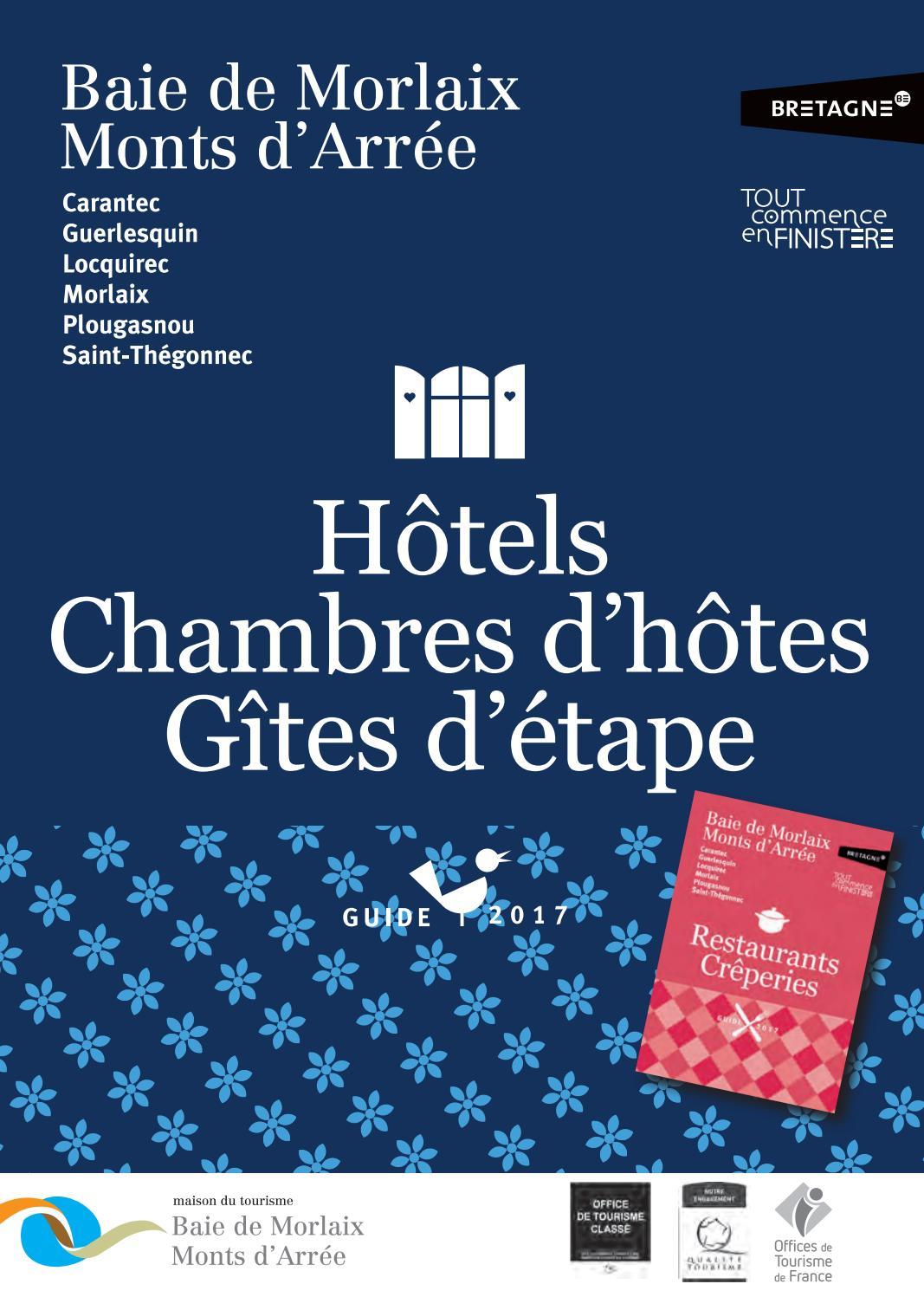 Guide gites d 39 tape baie de morlaix monts d 39 arr e 2017 by maison du tourisme issuu - Office du tourisme bourgoin jallieu ...