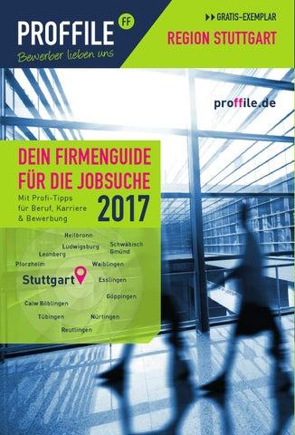 PROFFILE Stuttgart 2017 by SMK Medien GmbH & Co. KG | PROFFILE - issuu