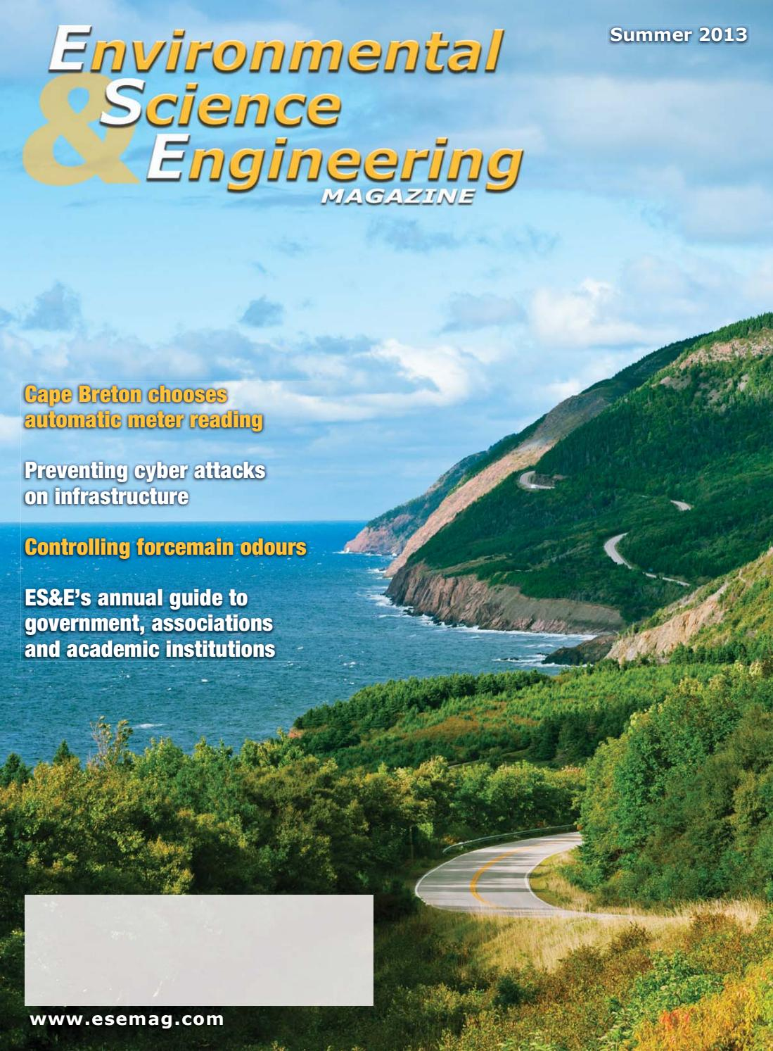 Environmental Science & Engineering Magazine Summer 2013 by ...