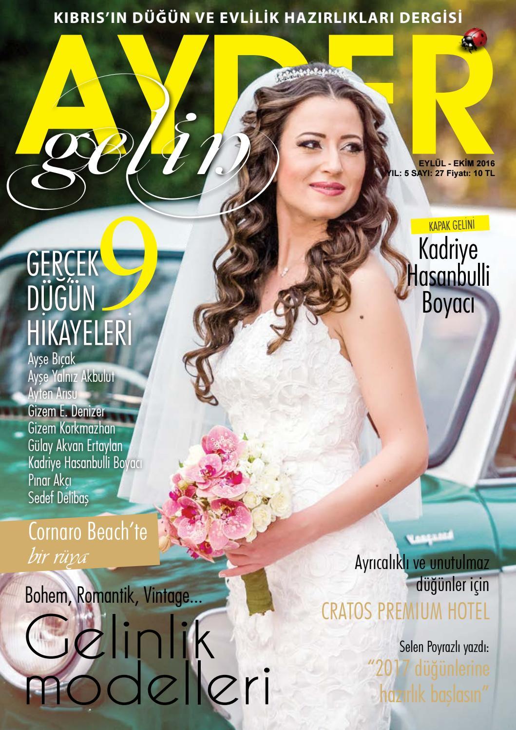 Ayder Gelin Sayı 14 - N.Cyprus Wedding Magazine by ACM I