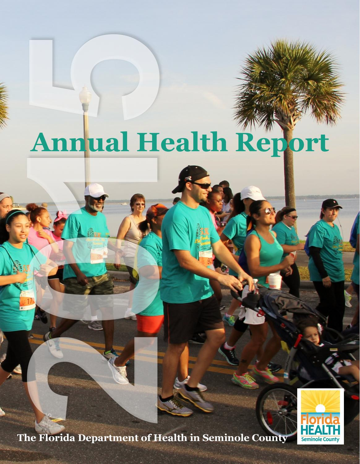seminole county annual report 2015 by florida department of health