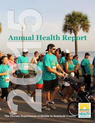 Seminole county annual report 2015 by Florida Department of