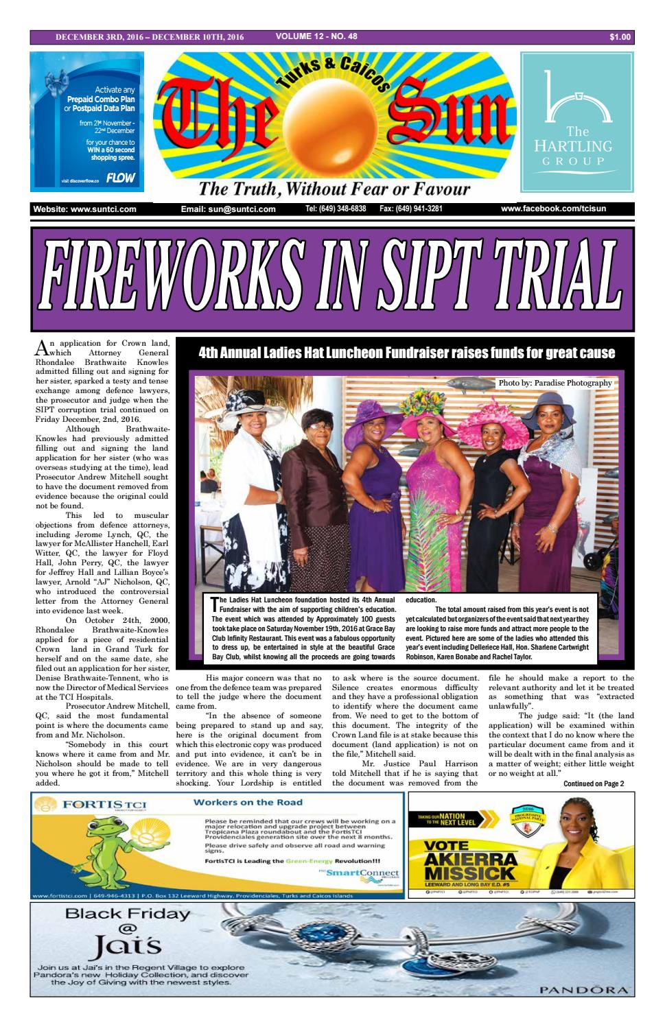 8d55d5727f6 VOLUME 12 ISSUE 48 by The SUN Newspaper - issuu