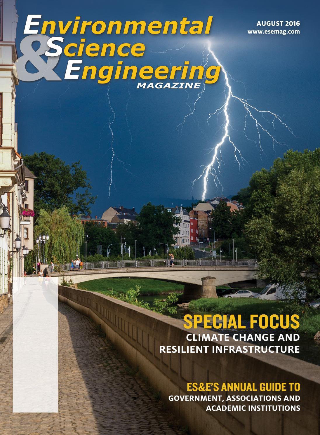Environmental Science & Engineering Magazine (ESEMAG) August 2016 by
