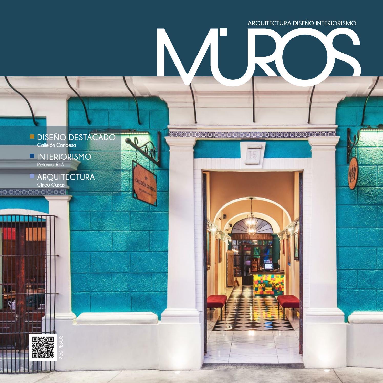Edici n 26 revista muros arquitectura dise o for Revista habitat arquitectura diseno interiorismo