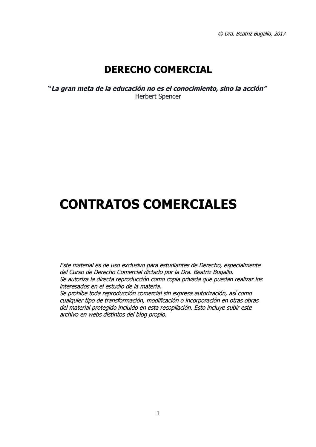 Gu a 2017 contratos comerciales by beatriz bugallo monta o issuu - Agencias para tener estudiantes en casa ...