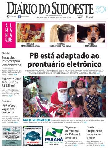 6182d6bd865 Diário do sudoeste 17 e 18 de dezembro de 2016 ed 6785 by Diário do ...