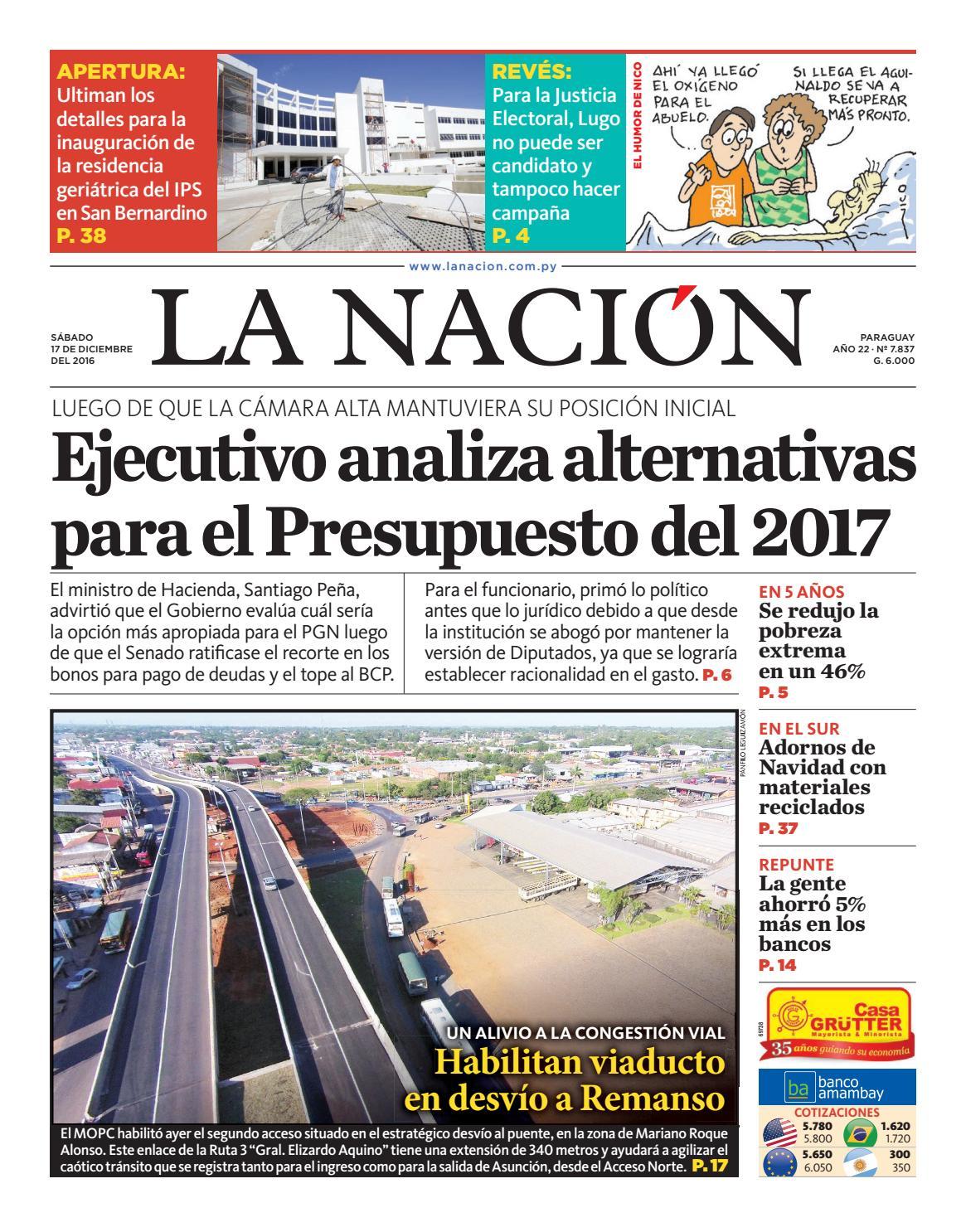 DIARIO LA NACIÓN - EDICIÓN 7.837 by La Nación - issuu