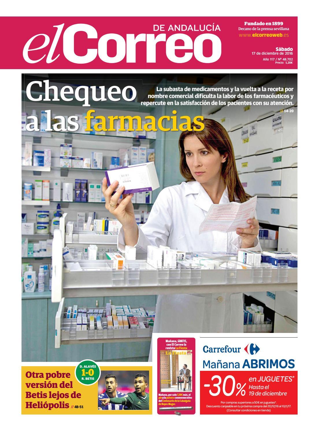 17 12 2016 El Correo de Andalucía by EL CORREO DE ANDALUCÍA S.L. - issuu