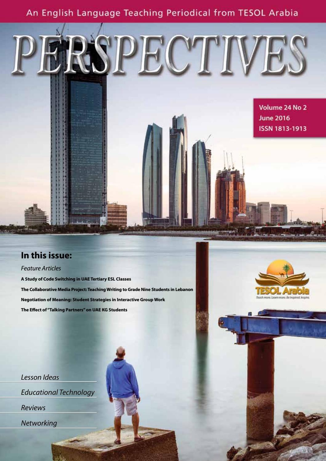 jun 2016 by tesol arabia perspectives issuu