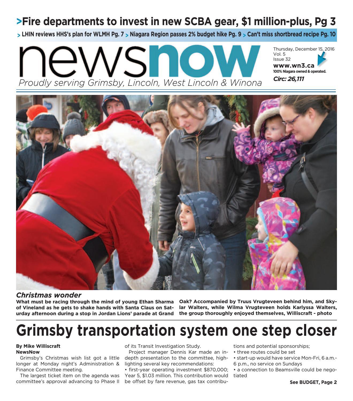 b41a7f361c21 newsnow Niagara e-edition December 15 2016 by newsnow Niagara - issuu