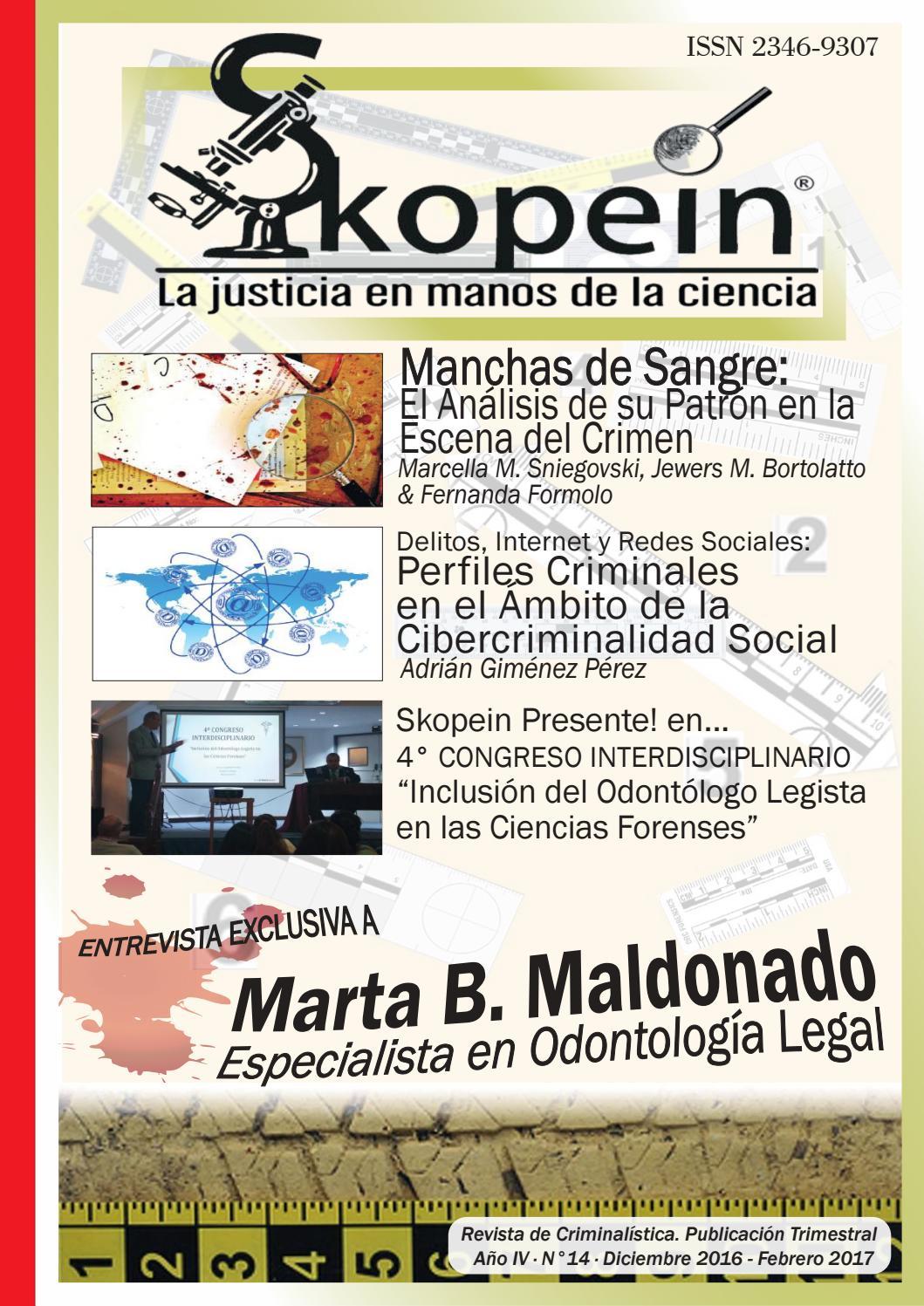 Revista Skopein N° 14 by Revista Skopein - issuu