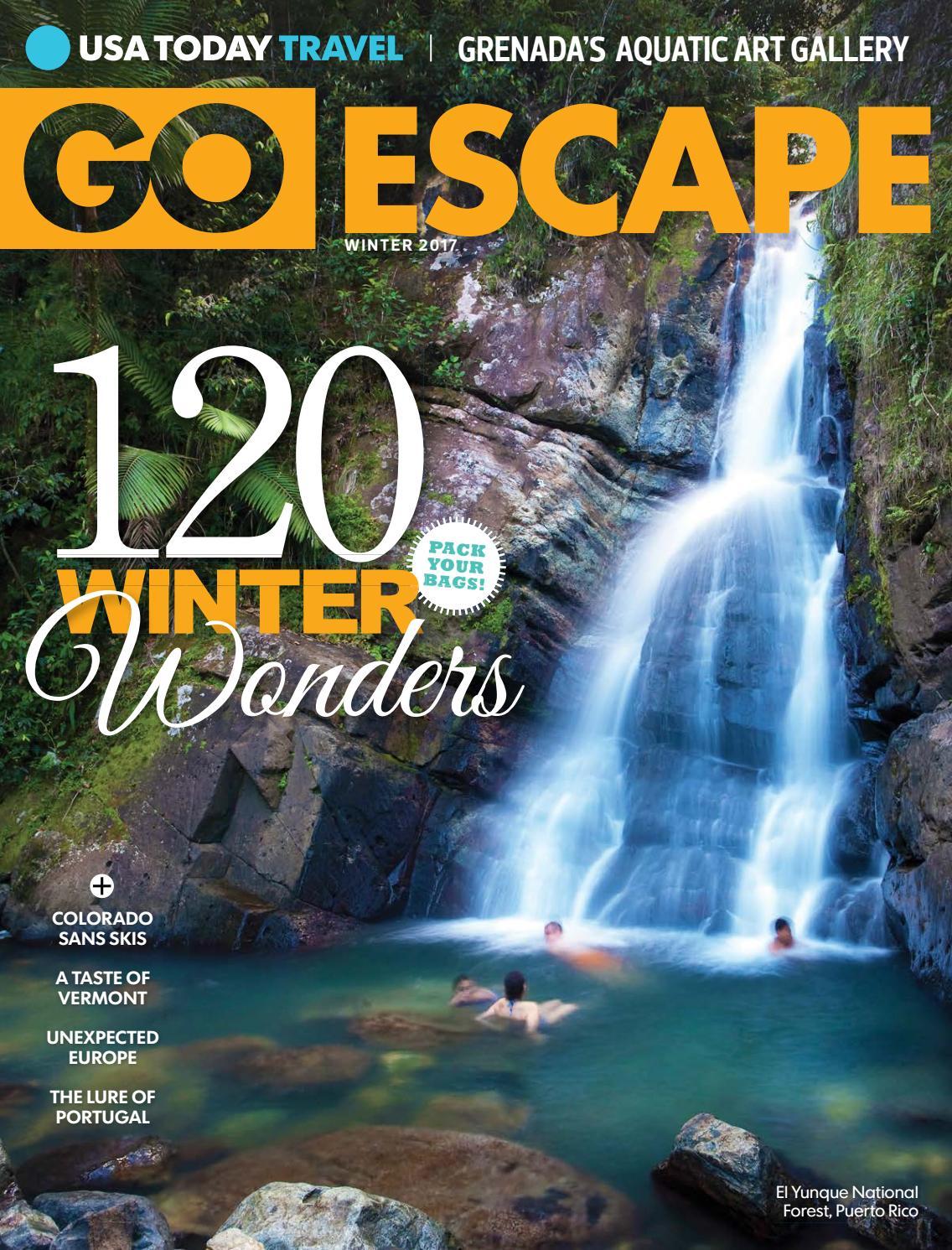 GOESCAPE WINTER 2016 by STUDIO Gannett issuu