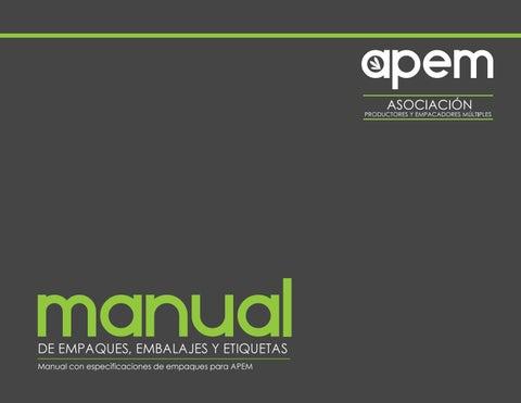 Cartilla de empaques y embalajes pdf by Cursos y Diplomados - issuu 893c73d53f2