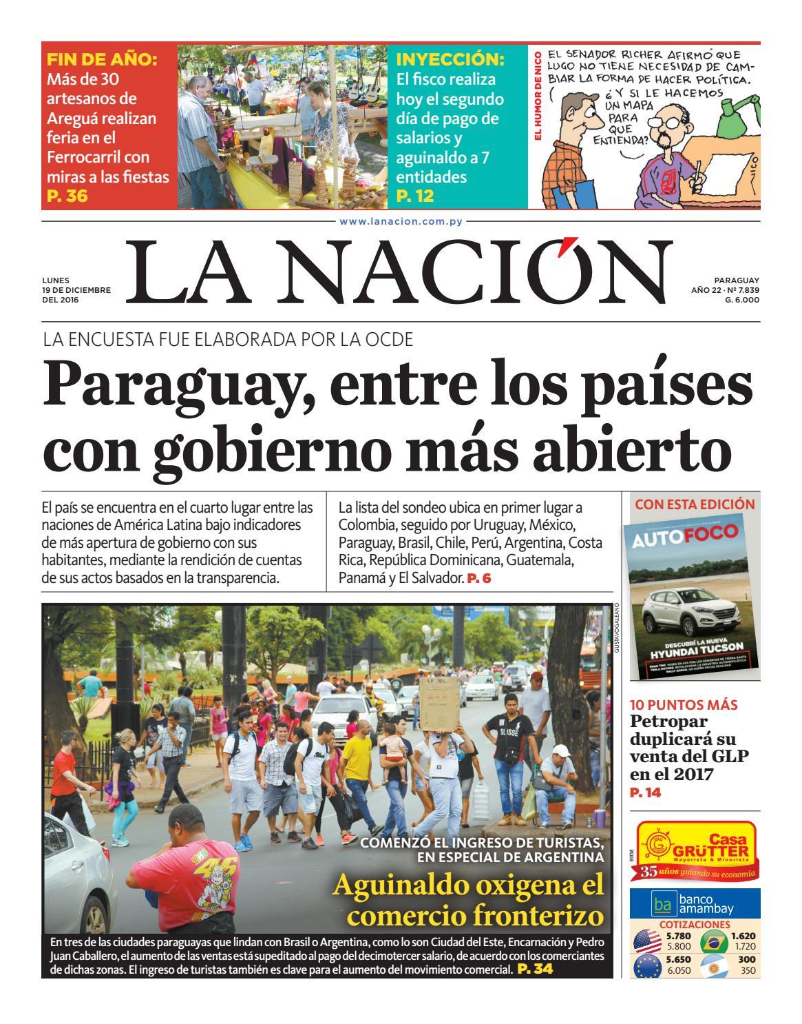 6d30f40b50 DIARIO LA NACIÓN - EDICIÓN 7.839 by La Nación - issuu